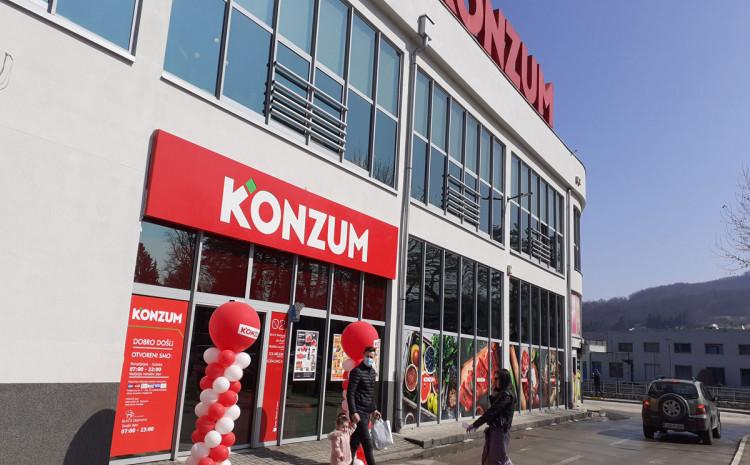 Preuređena Konzum prodavnica u Kiseljaku