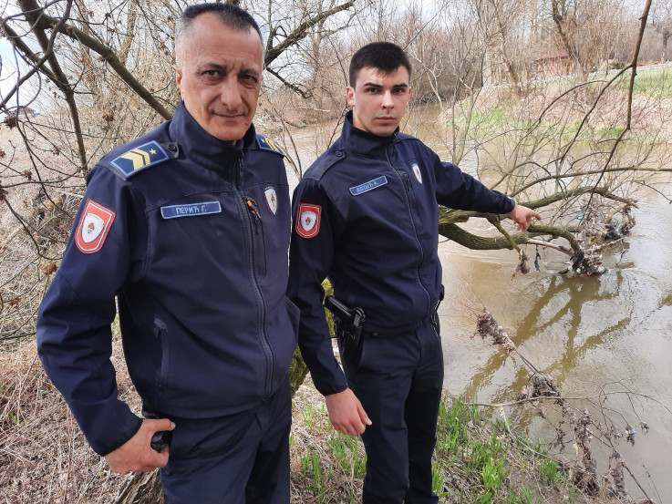 Policajci Perić i Jevtić