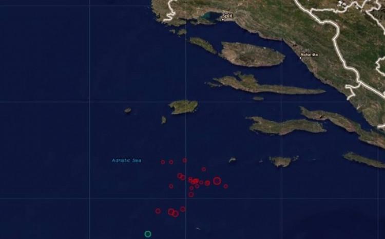 Zabilježeno 20 zemljotresa