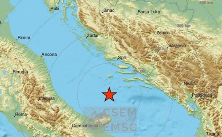 Zemljotres bio snage 3,8 po Rihteru