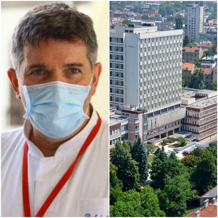 """Ismet Gavrankapetanović, direktor Opće bolnice """"Prim. dr. Abdulah Nakaš"""""""