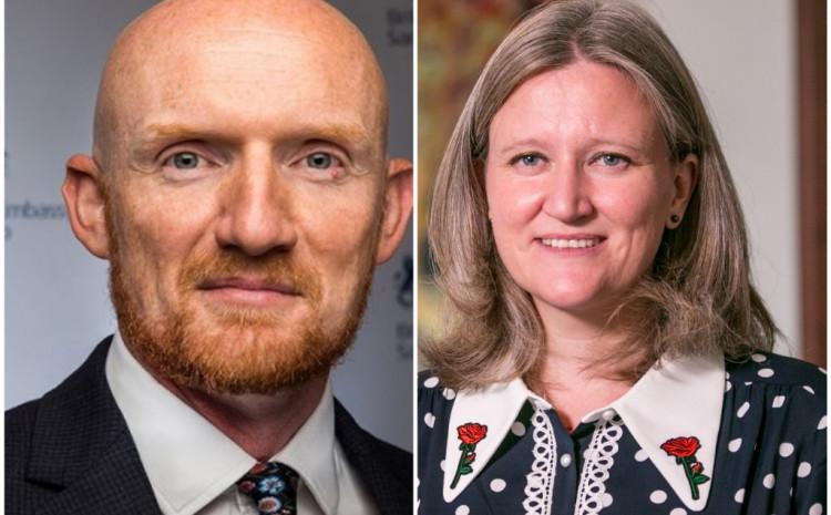 Britanski ambasadori Fild i Medoks