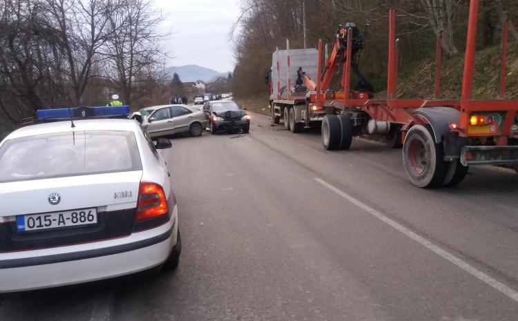 Na vozilima je nastala veća materijalna šteta