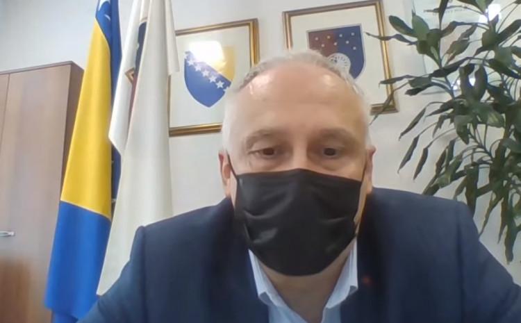 Ministar zdravstva KS Haris Vranić