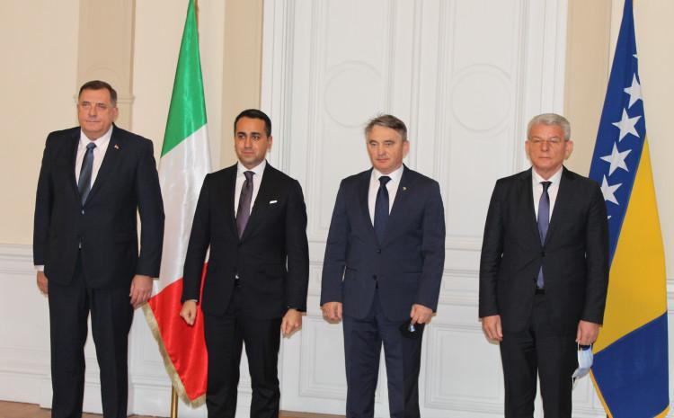 Istaknut je značaj kontinuirane podrške Republike Italije unutar EU