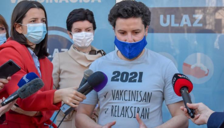 Abazović: Ako je moglo 23 miliona Britana da se vakciniše AstraZenecom, mogu i ja