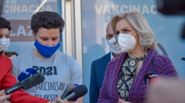 Šefica Svjetske zdravstvene organizacije (SZO) za Crnu Goru Mina Brajović