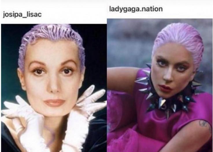 Josipa Lisac i Lejdi Gaga