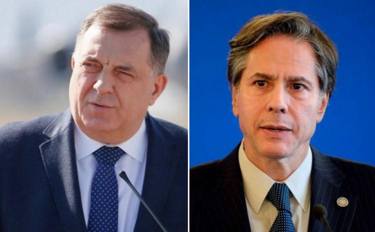 Milorad Dodik i Entoni Blinken