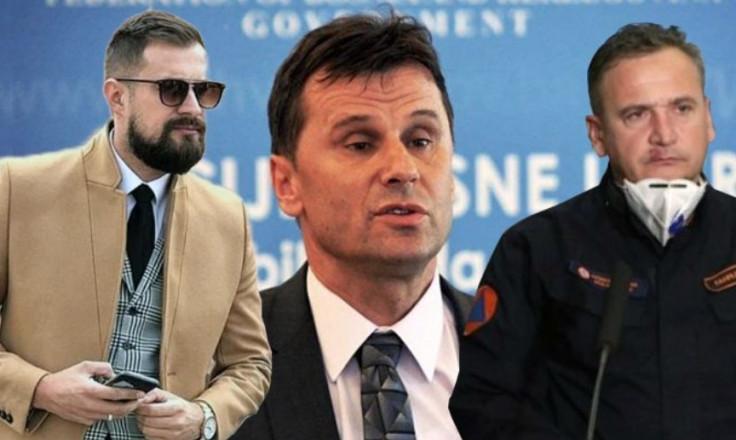 Hodžić, Novalić i Solak: Nabavili respiratore