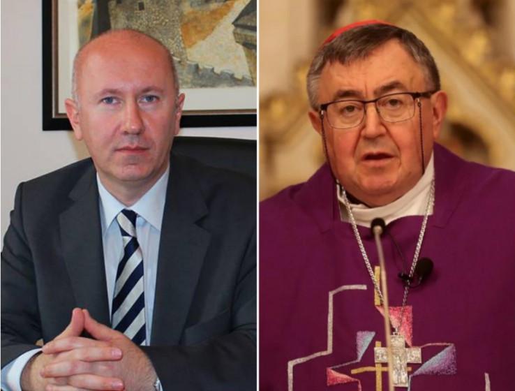 Dunović uputio čestitku kardinalu Puljiću i svim katolicima u BiH povodom Uskrsa
