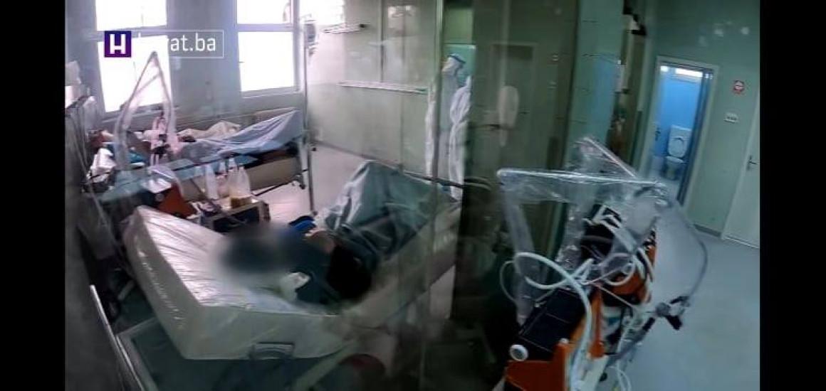 Snimak kineskih respiratora koje je nabavila Novalićeva vlada u Respiratornom centru na KCUS-u objavila je Hayat TV