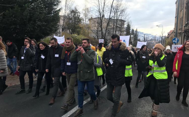 Za sutra su u Sarajevu najavljeni protesti studenata