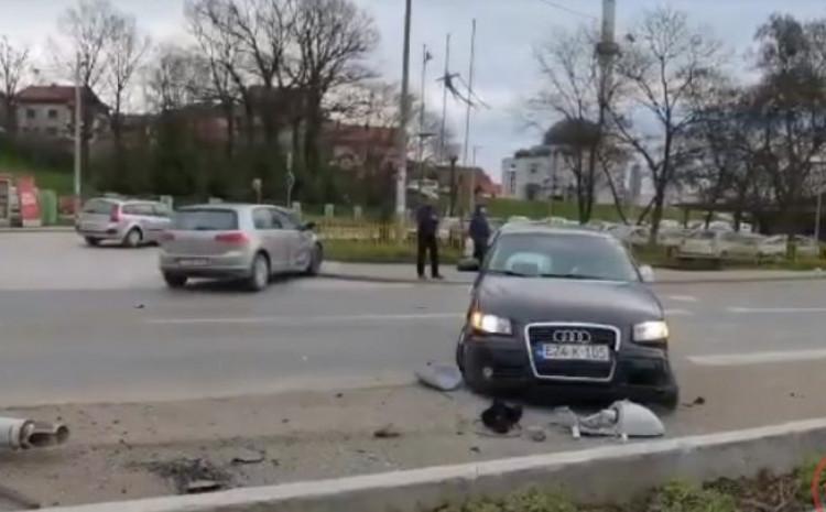 Audi na mjestu nesreće