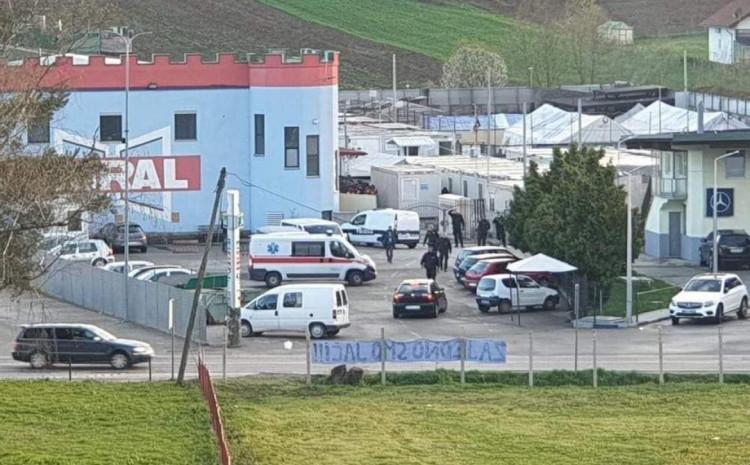 Policija na mjestu pucnjave