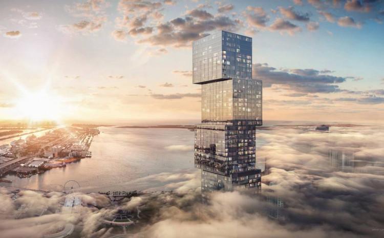 Zgrada će obuhvaćati oko 100 spratova