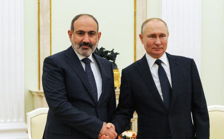 Pašinjan i Putin
