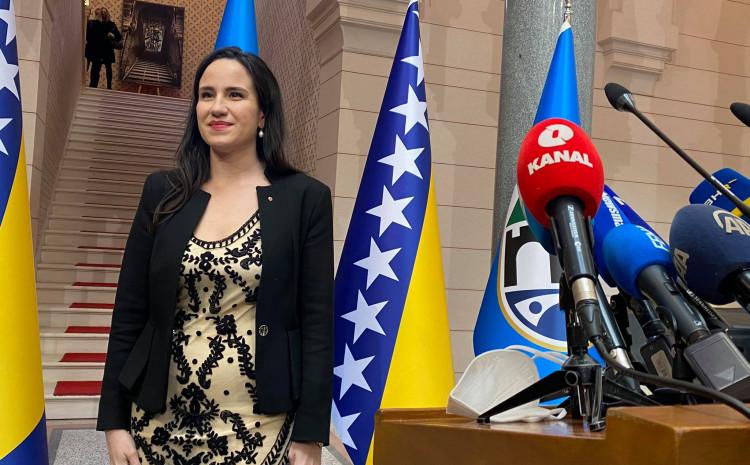 Novoizabrana gradonačelnica Sarajeva Benjamina Karić