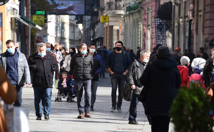 Novi slučajevi registrirani su u svim kantonima u Federaciji BiH