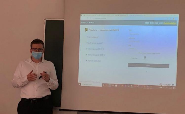 Prezentovana online platforma za vakcinisanje