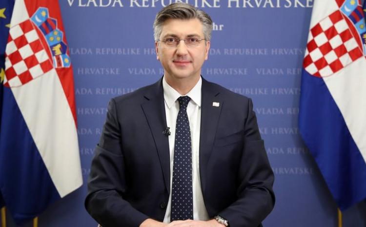 Plenković: Povećan broj zaraženih posljedica je povećanog broja okupljanja