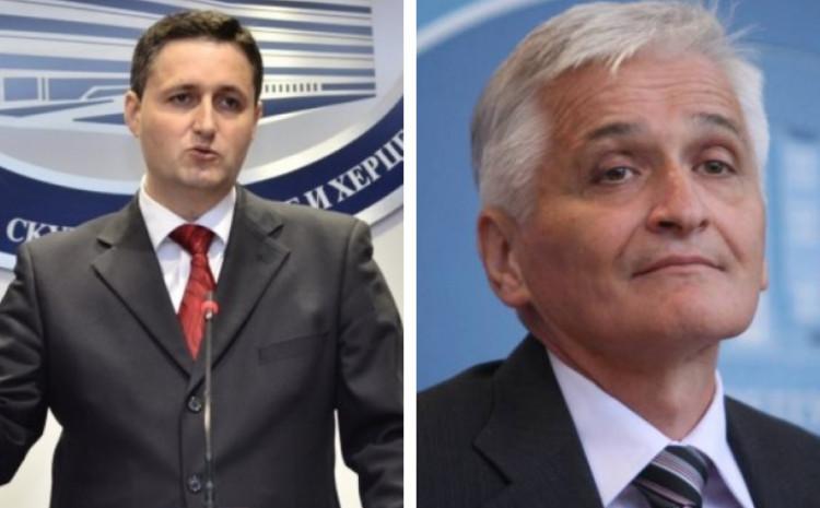 Denis Bećirović i Nikola Špirić