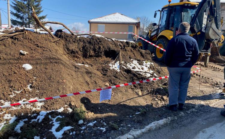 Posmrtni ostaci su uočeni prije dva dana prilikom izvođenja građevinskih radova
