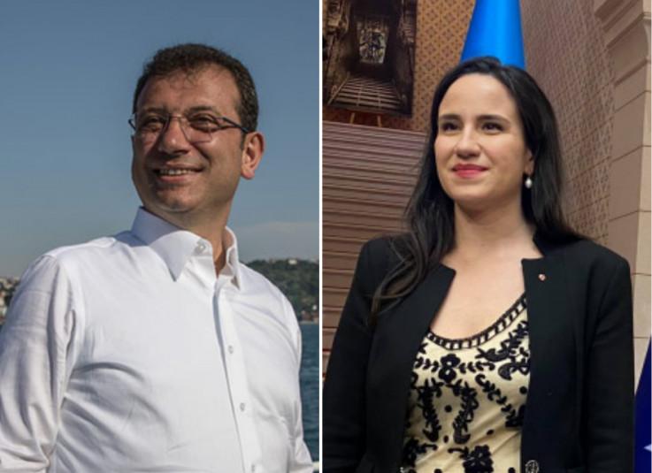 Gradonačelnik Istanbula Ekrem Imamoglu čestitao Benjamini Karić na izboru za gradonačelnicu Sarajeva