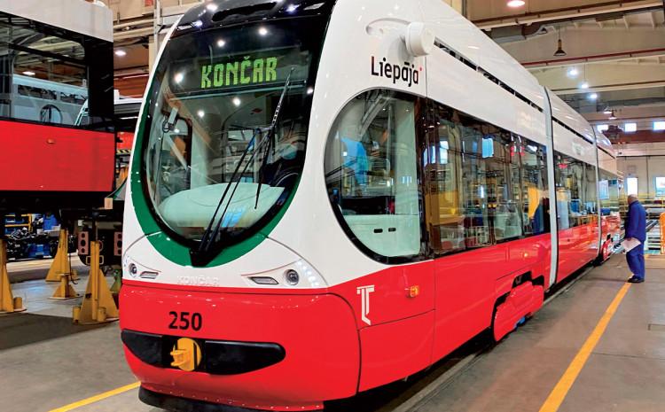 Bijelo-crveni tramvaji za tržište Evropske unije