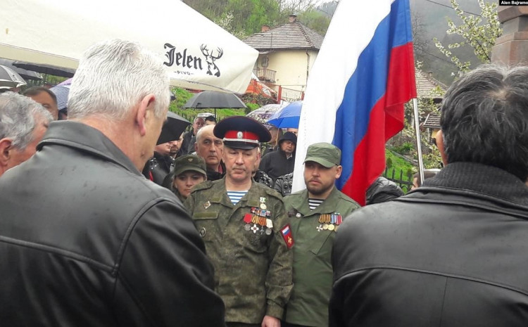 Višegrad: Ruski dobrovoljci se okupljaju svake godine