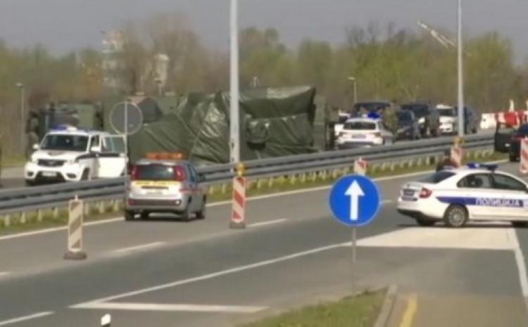 Pripadnik Vojske Srbije lakše je povrijeđen