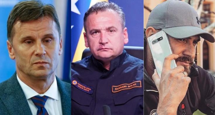 Novalić, Solak i Hodžić