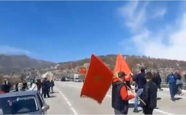 Magistralni put Nikšić - Podgorica i danas je blokiran