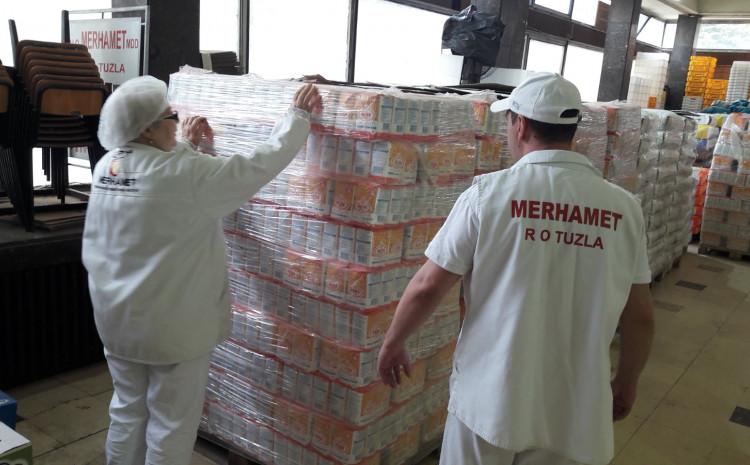 Uručena donacija od 10 tona brašna