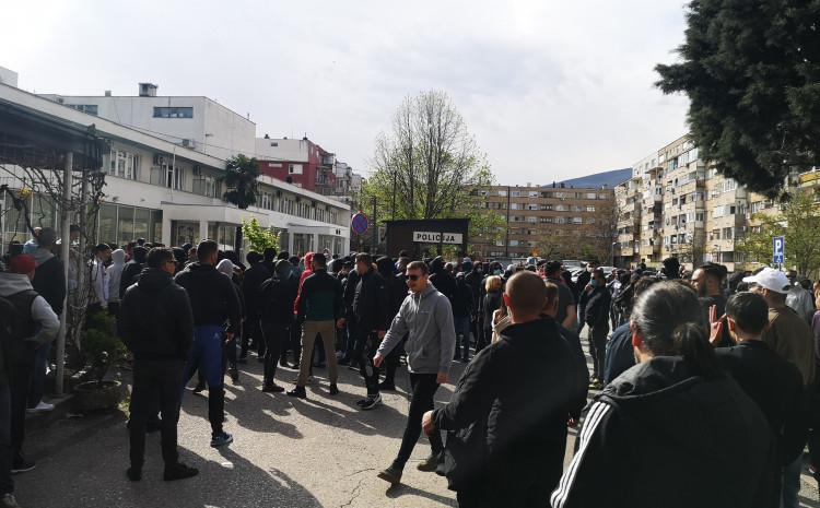 Incident ispred PU Mostar