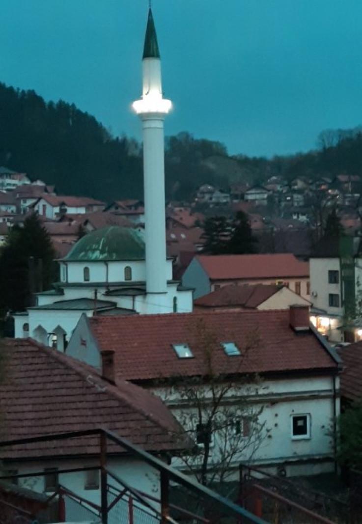 Bijela džamija koju je dao sagraditi Ahmet paša Budimlija