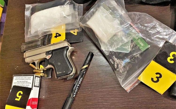 Zaplijenjeni droga i oružje