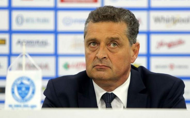 Predsjednik FK Željezničar Admir Džubur