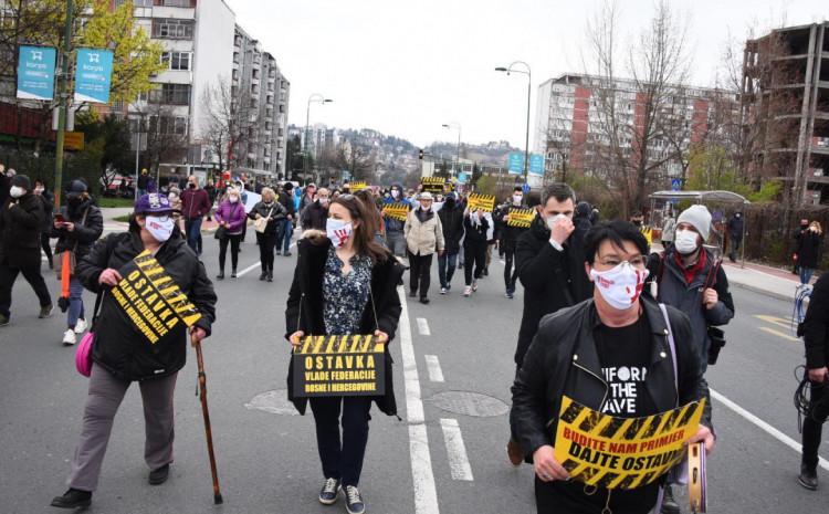 "Inicijativa ""Borba za život"", mirna šetnja 6. aprila"