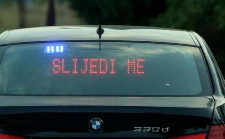"""Policija """"ulovila"""" nesavjesnog vozača"""