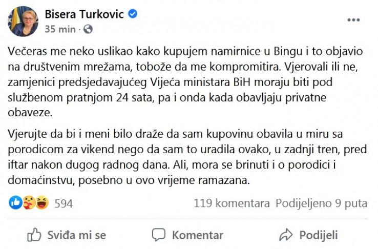 Status Bisere Turković