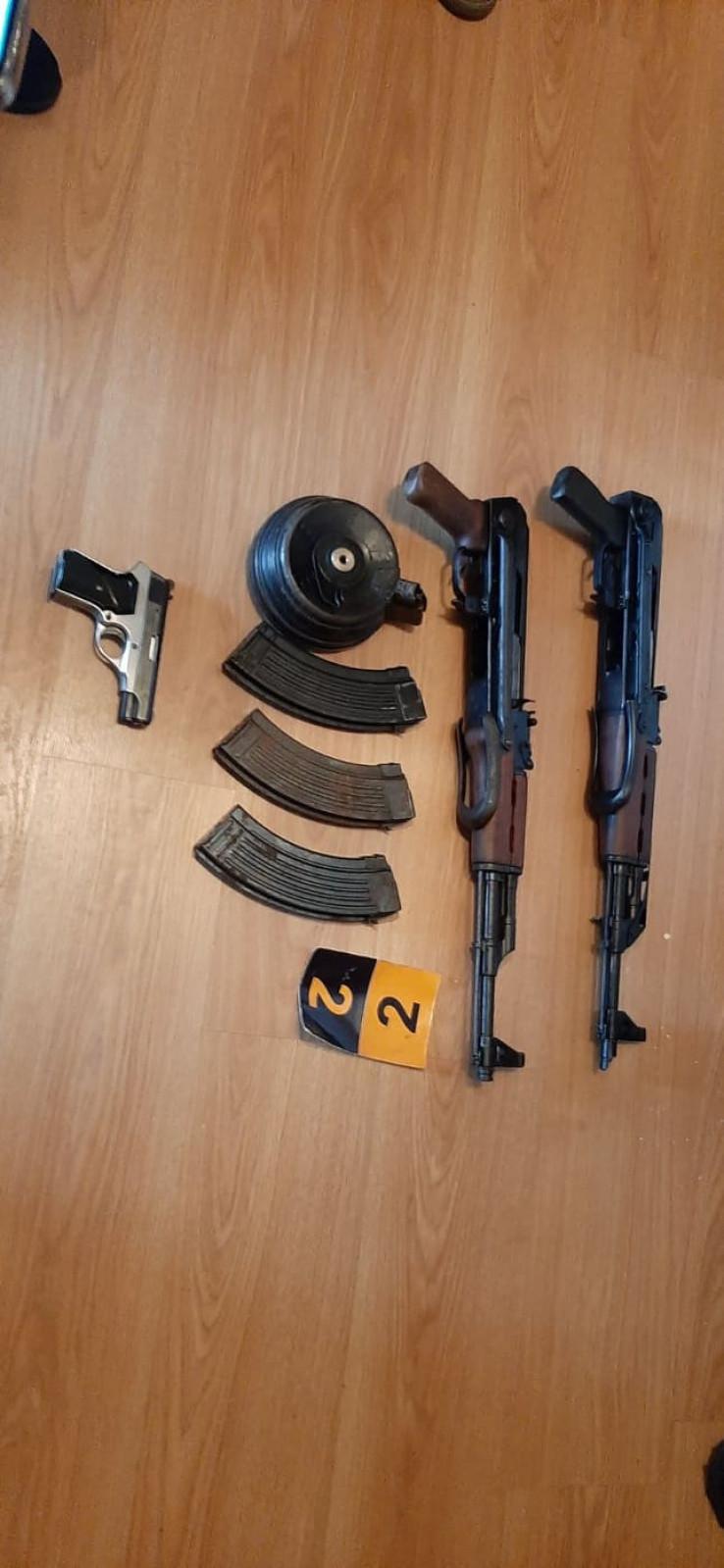 Zaplijenjeno oružje