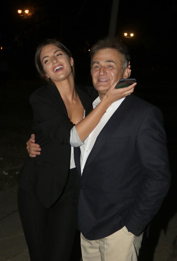 Ana Lečić sa ocem Branislavom Lečićem