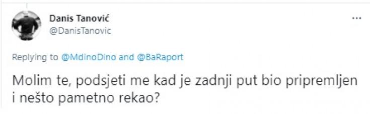 Odgovor Danisa Tanovića