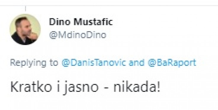 Mustafić uzvratio Tanoviću