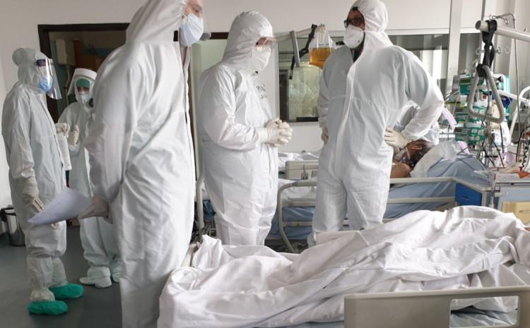 U Covid trijažnoj ambulanti, u protekla 24 sata, opservirano je 45 pacijenata