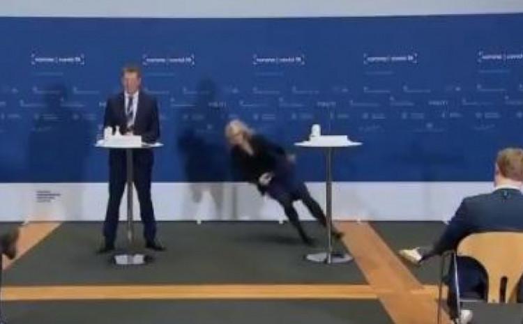 Konferencija za novinare, šefica danske Agencije za lijekove se onesvijestila