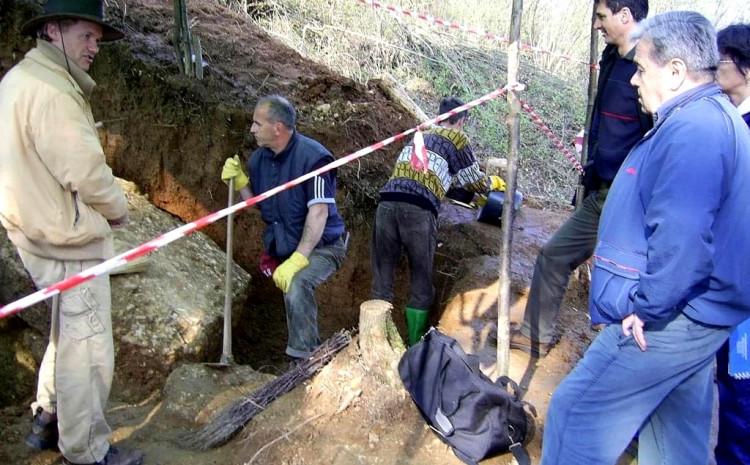 Ovako su krenula prva iskopavanja
