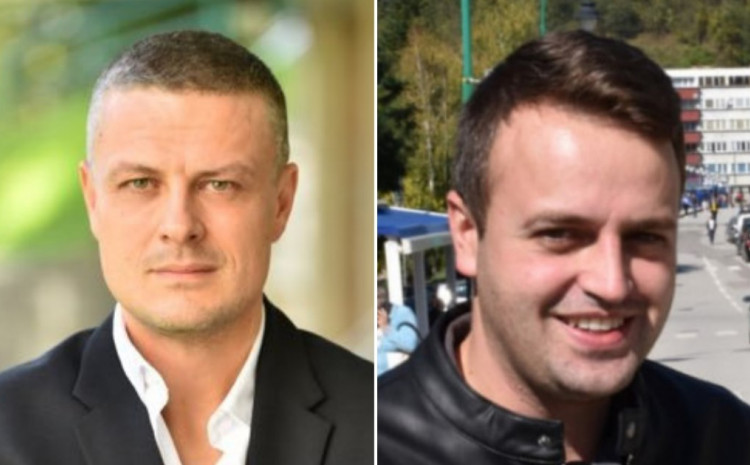 Vojin Mijatović i Ernest Imamović
