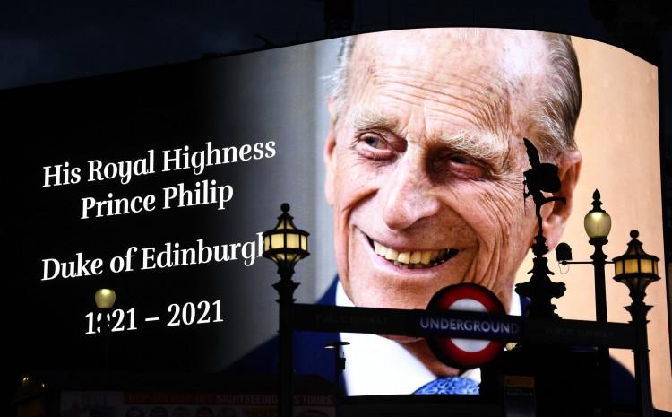 Princ Filip preminuo 9. aprila